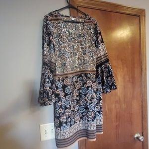Sheath dress.